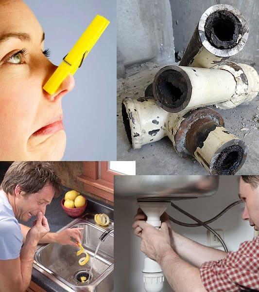 Запах из канализации в частном доме как устранить