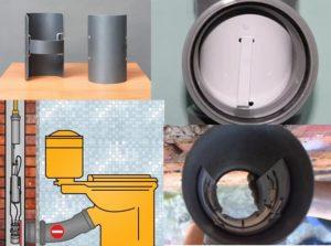 Как снять заглушку с канализации