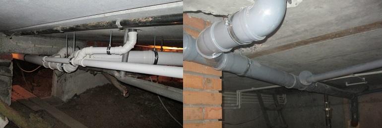 Лежневка или лежак – горизонтальная труба подвального помещения, объединяющая стояки из одного подъезда.