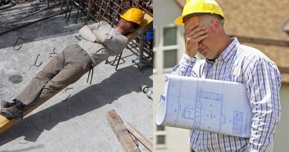 Ошибки строителей при монтаже труб.