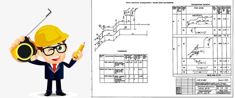 Условные обозначения водопровода и канализации на чертежах.