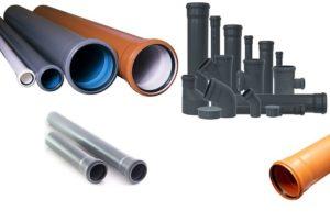 Диаметр канализационных труб — таблица и размеры