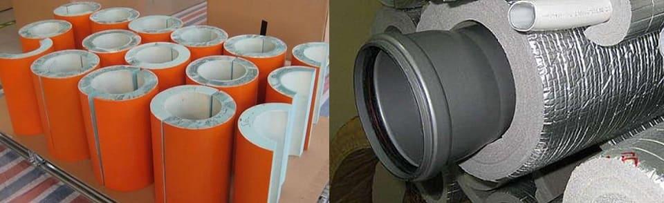 Материал шумоизоляции канализационного стояка.