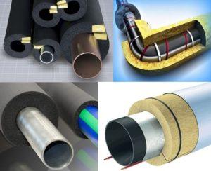 Утеплитель для наружных канализационных труб: виды теплоизоляции