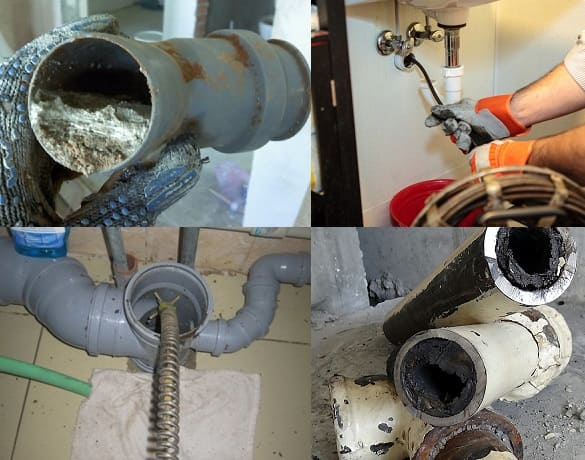 Засор канализации в многоквартирном доме