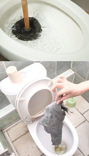 Банальный мусор, засоривший сифон, может повлиять на распространения запаха в туалете.