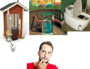 Туалет в деревянном доме с канализацией — выбор варианта для дачи