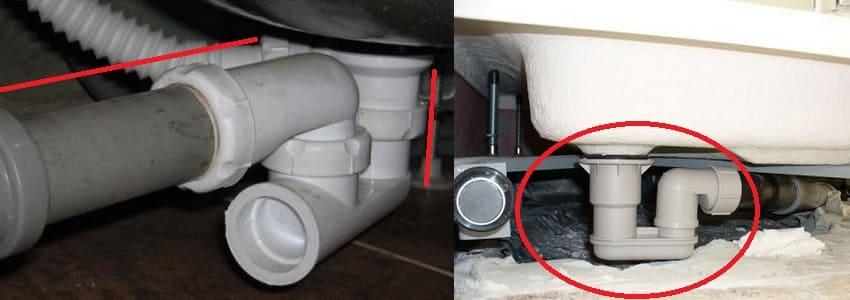 Подключение душевой кабины к канализации своими руками