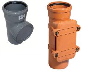 Ревизия канализационная — что это такое и как установить?