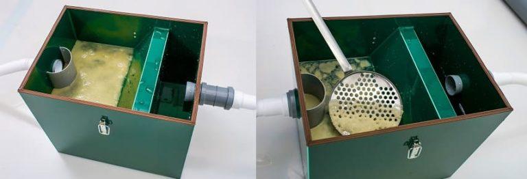 Жироуловитель для канализации из столовой: как работает, устройство, преимущества