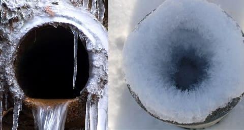 Замерзла канализация, что делать и как отогреть трубу?