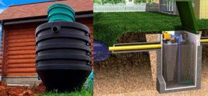 Локальная канализация для загородного дома — устройство своими руками