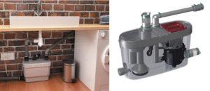 Насос для канализации в квартире для кухни: принцип работы, преимущества, виды