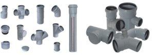 Фитинги для канализационных труб: размеры, виды, характеристики