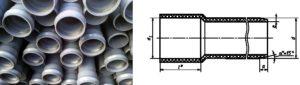 Трубы ПВХ для канализации ГОСТ 51613 2000 безнапорные. Фасонные части.