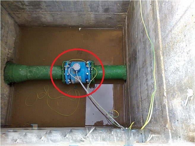 Счетчик на канализациюможет давать неточные измерения
