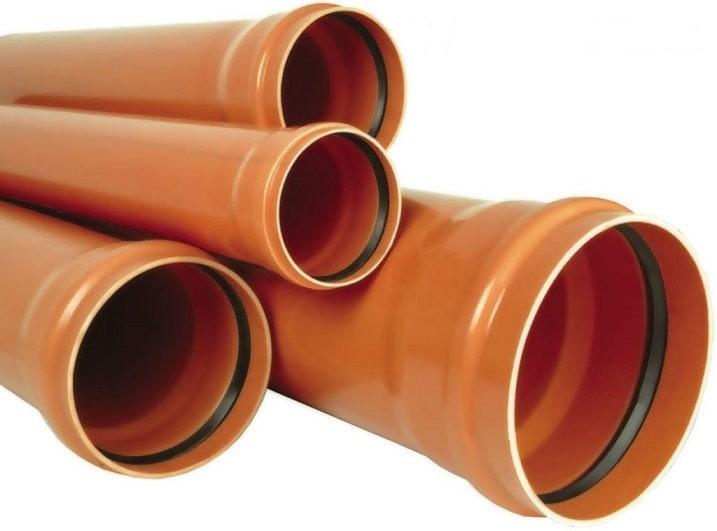 Труба канализационная наружная ПВХ 110 мм