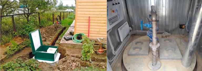 Местная канализация: устройство и особенности