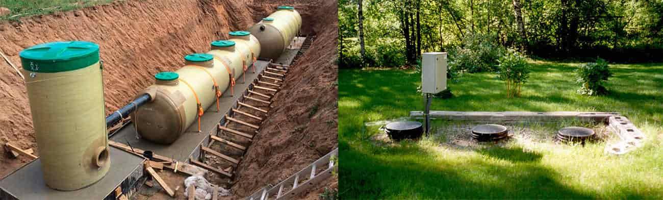 Монтаж очистных сооружений канализации