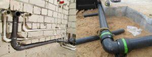 Монтаж труб водоснабжения и канализации: монтаж внутренних систем трубопроводов