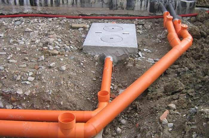 Прокладка водопроводной сети