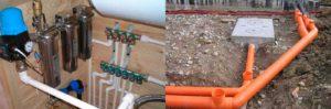 Системы водоснабжения и канализации конструкция и элементы: нормы