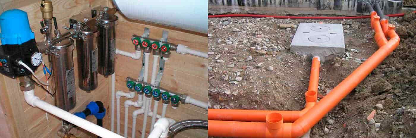 системы водоснабжения и канализации конструкция и элементы