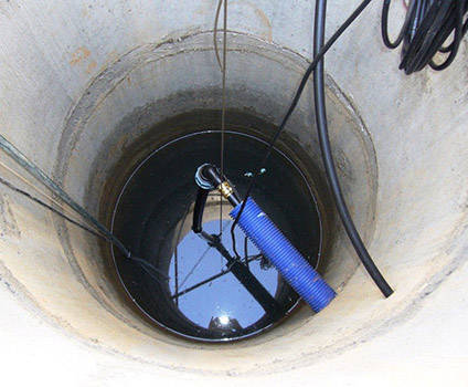 Бетонный канализационный колодец