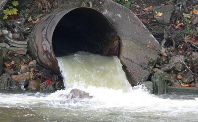 Все канализационные стоки попадают в сточную трубу