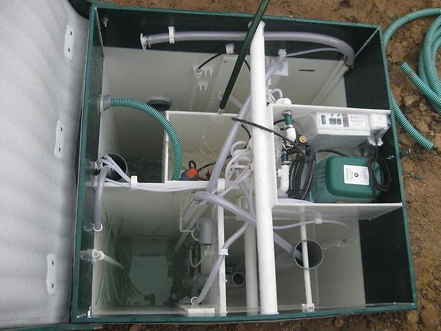 Принцип работы автономной канализации Юнилос