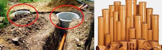Наружная канализация: устройство, монтаж, особенности