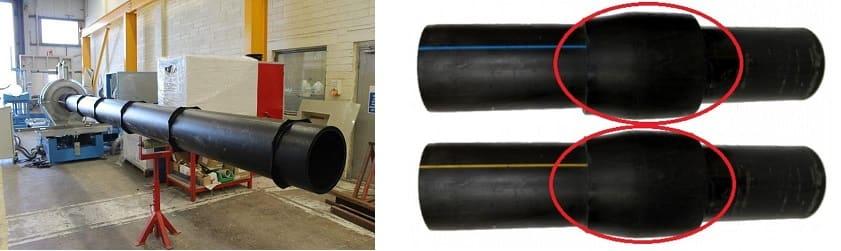 Трубопроводы канализации из полиэтиленовых труб высокой плотности с гильзами диаметром 110 мм: технология и особенности