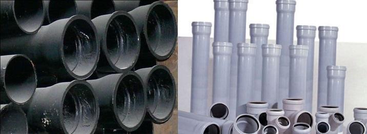 Замена чугунного стояка канализации на пластиковый — особенности и порядок действий