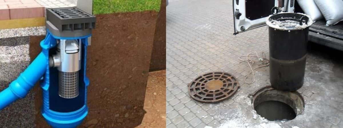 Фильтр патрон для ливневой канализации