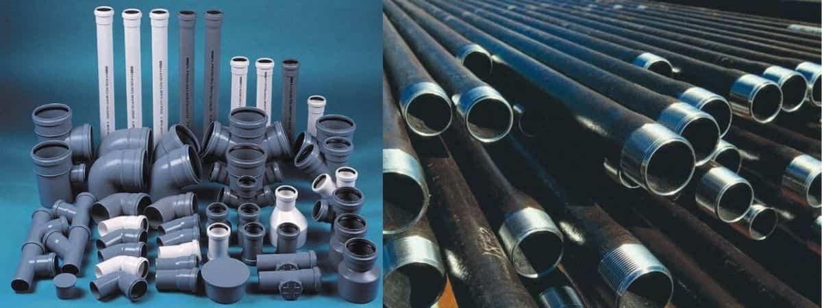 Материал канализационных труб: элементы, виды, особенности