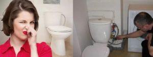 Воняет канализацией в туалете на последнем этаже: почему пахнет и что делать?