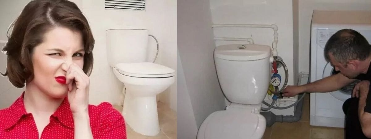 воняет канализацией в туалете на последнем этаже