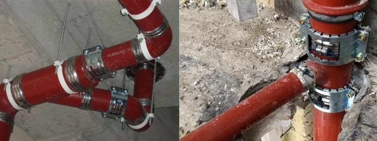 Трубы чугунные канализационные ГОСТ: виды и характеристики