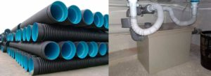Гибкая канализационная труба: разновидности и характеристики