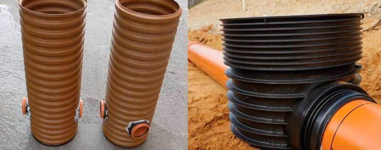 Колодец ливневой канализации: устройство дренажного колодца