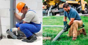 Обслуживание канализации — техническое обслуживание систем