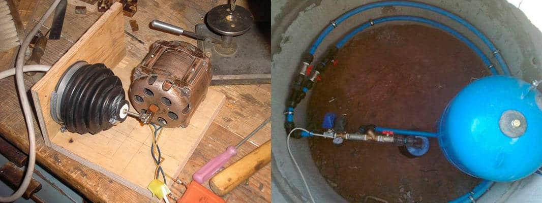 Самодельный насос для откачки канализации своими руками — вакуумный насос