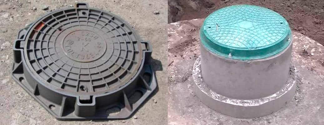 установка канализационных люков
