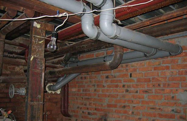 Удобство канализации в подвале