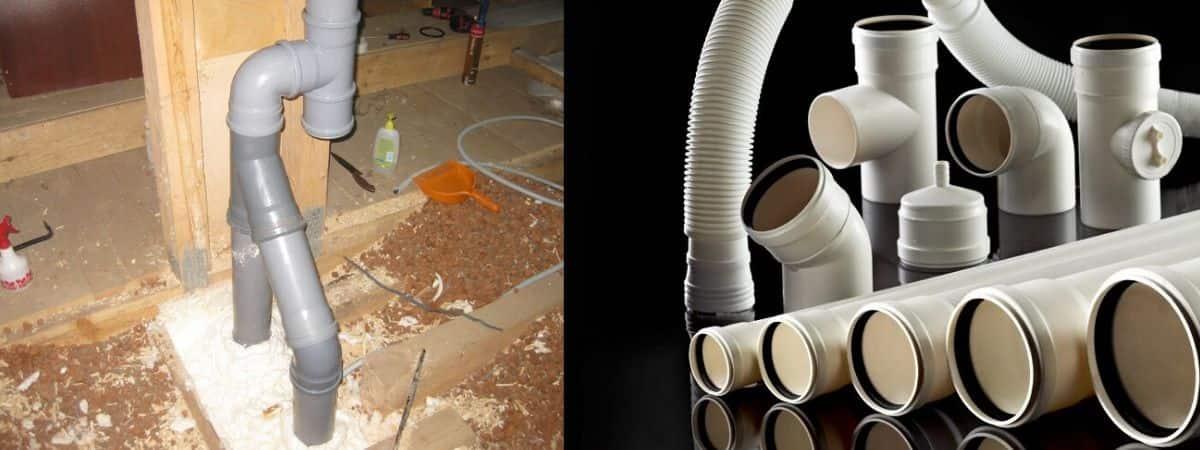 Вентиляция из канализационных труб