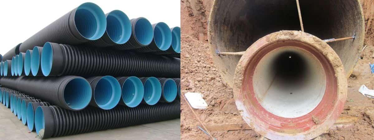 Диаметр футляра для канализации