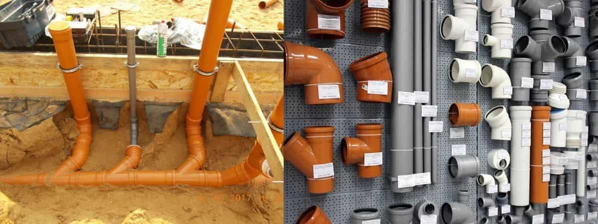 Производство канализационных труб: современные материалы, производители