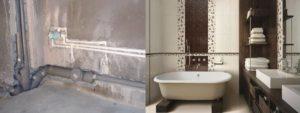 Как спрятать канализационные трубы в ванной: как убрать, чем заделать, способы