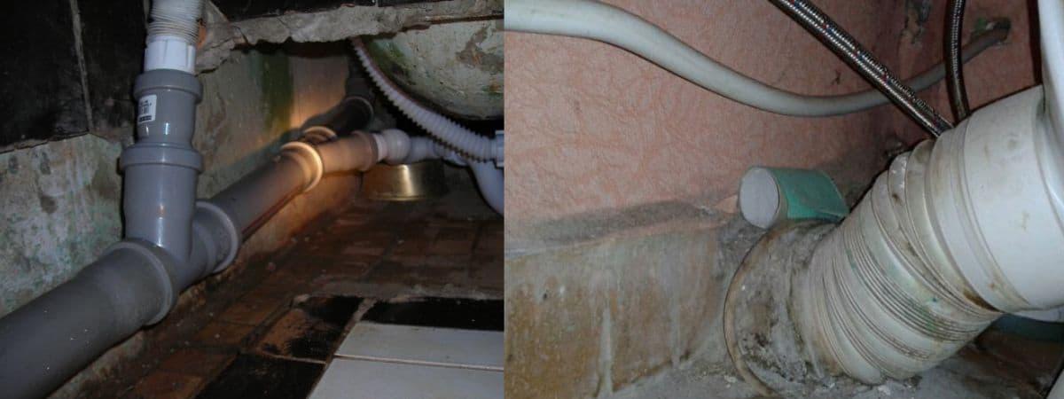 Почему булькает в канализации вода при сливе: хлюпает воздух в ванной и раковине
