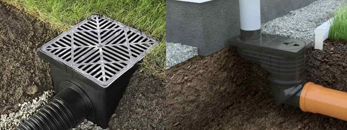 Дождеприемники для ливневой канализации: устройство, характеристики, установка